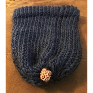 Other - Dark Grey Hand Knitted Beanie